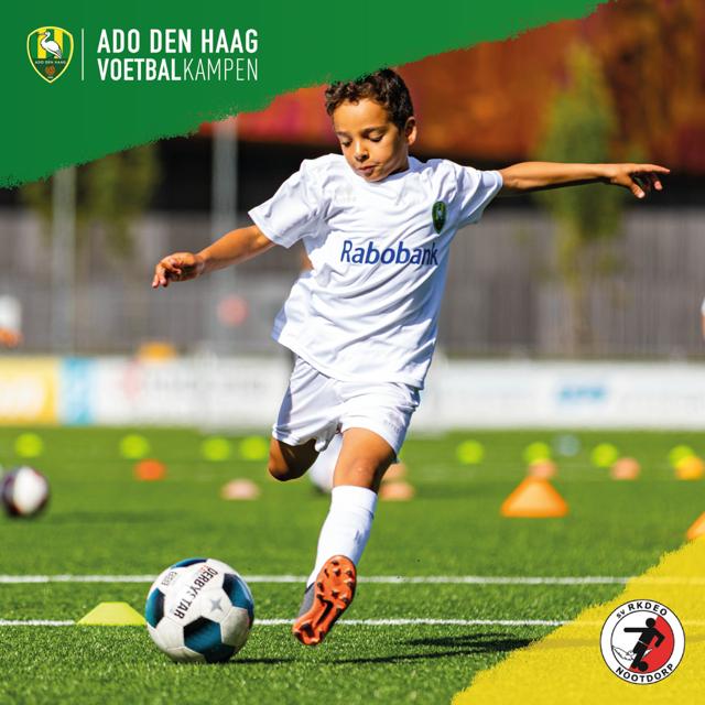 ADO Den Haag Voetbalkamp bij RKDEO